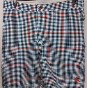 Tommy Bahama Coasta Rio Plaid Swimming Trunks